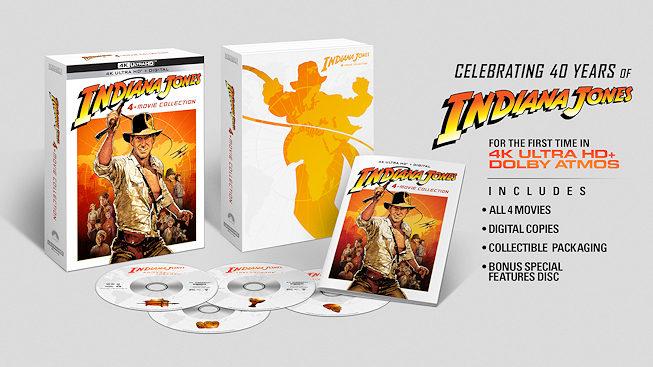 Indiana Jones 4K UHD Blu-Ray